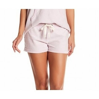 Alternative NEW Pink Womens Size Small S Elastic-Waist Burnout Shorts
