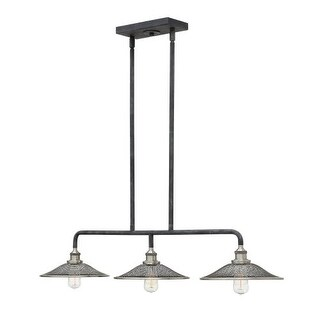 Hinkley Lighting 4364 3 Light 1 Tier Linear Chandelier from the Rigby Collection