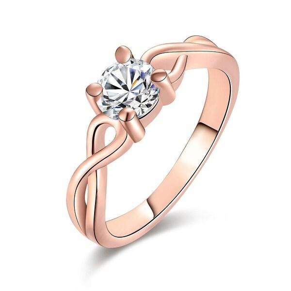 Classic Rose Gold Petite Circular Ring
