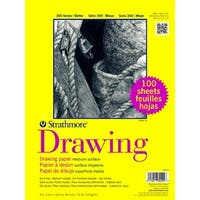 Strathmore 300 Series Drawing Paper, 9 x 12 Inches, 70 lb, 100 Sheets