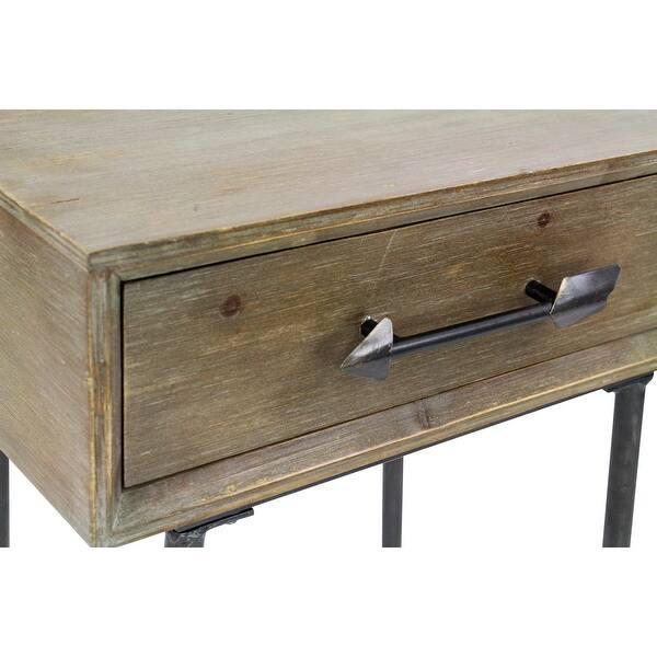 "Shop Aspire Home Accents 6237 Blake 12-1/2"" Wide Rectangular Wood"