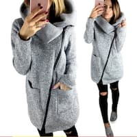 Female Autumn And Winter Thick Jacket Coat