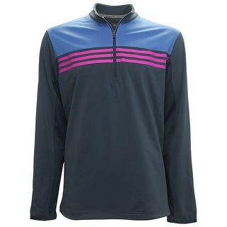 Adidas ClimaCool Color Block 1/4-Zip Pullover