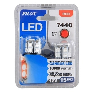 Pilot Automotive 15-SMD Tail Light Bulb (2-piece Set)