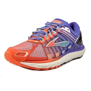 Brooks Transcend 2 Women Round Toe Synthetic Multi Color Running Shoe