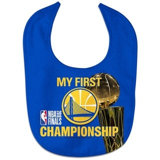 Golden State Warriors World Champion All Pro Baby Bib - Blue