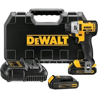 Dewalt DCF885C2 20-Volt Li-Ion Compact .25 in. Impact Driver Kit