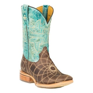Tin Haul Western Boots Womens Distressed Brown