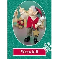 "11.5"" Zims The Elves Themselves Wendell Collectible Christmas Elf Figure"