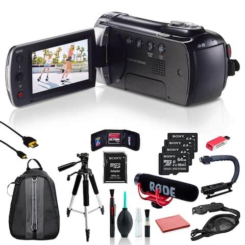 Samsung HMX-F90 Camcorder w/ 11pc Accessories + 4x64GB SD Card Bundle