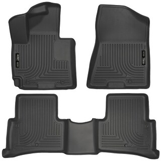 Husky Weatherbeater 2016 Hyundai Tucson Black Front & Rear Floor Mats/Liners