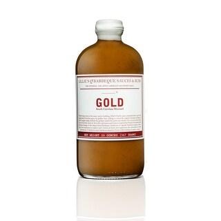 Lillies Q Gold Barbecue Sauce - Case of 6 - 16 Fl oz.