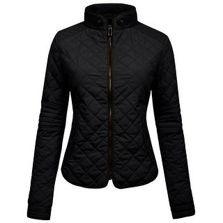 NE PEOPLE Womens Lightweight Quilted Zip Jacket (NEWJ22)