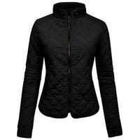 NE PEOPLE Womens Lightweight Quilted Zip Vest (NEWJ40)