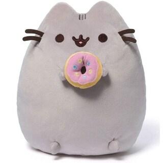 Pusheen Plush Toy with Donut