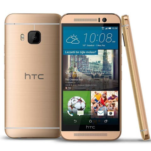 HTC One M9 32GB GSM UNLOCKED 4G LTE 20MP Camera Smartphone w/ Front-Facing