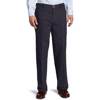 Link to Dockers Mens Chino Pants Navy Blue 38x34 Stretch Flat-Front Relaxed-Fit Similar Items in Big & Tall