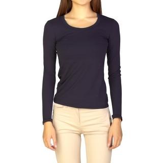 Prada Women's Cotton Long sleeve Shirt Black - S