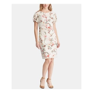 Link to RALPH LAUREN Pink Short Sleeve Above The Knee Dress 10 Similar Items in Dresses