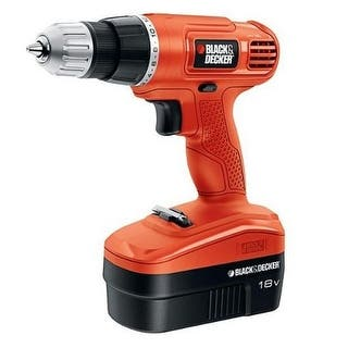 Black & Decker GC1801 NICAD Drill/Driver, 18 volt|https://ak1.ostkcdn.com/images/products/is/images/direct/28e172df4c3e9eee100d750ff7744cae9203ee45/Black-%26-Decker-GC1801-NICAD-Drill-Driver%2C-18-volt.jpg?impolicy=medium