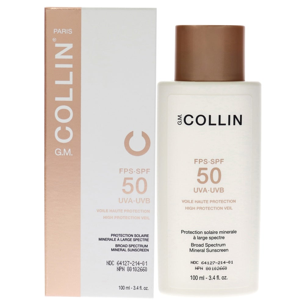 High Protection Veil Spf 50 By G M Collin For Unisex - 3 4 Oz Sunscreen (Body Sunscreen)