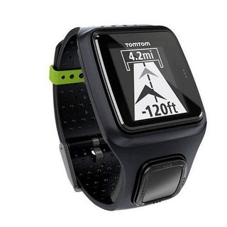 TomTom Runner GPS WATCH, Sport Running Ultra Slim FITNESS WATCH, Black