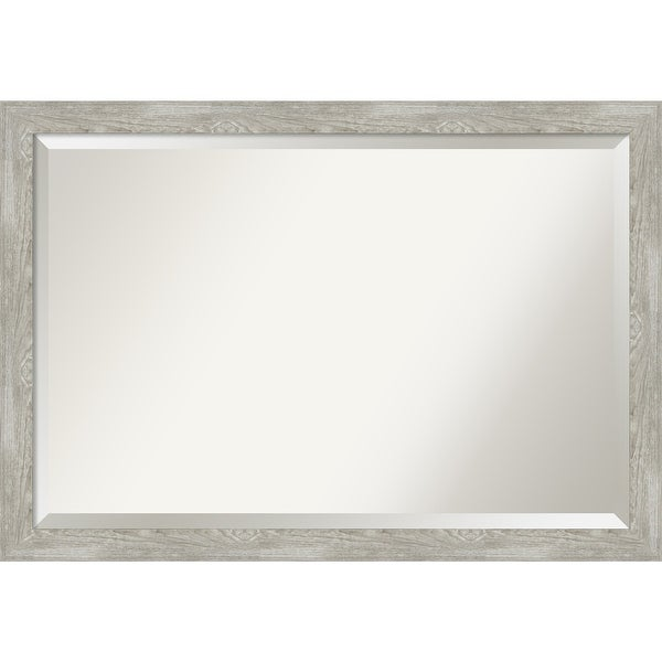 The Gray Barn Greywash Narrow Bathroom Vanity Wall Mirror. Opens flyout.