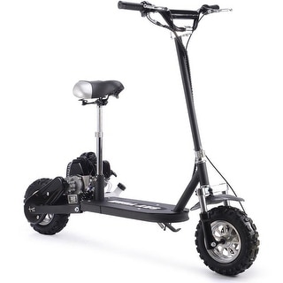 Shop E300S Seated Electric Scooter - White/Blue - Free