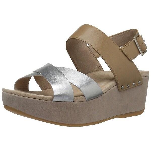 Dansko Womens Stasia Open Toe Casual Platform Sandals