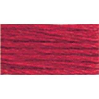 Bright Red - DMC Satin Floss 8.7yd