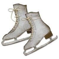 """Ice Skates - Sizzix Bigz Die By Tim Holtz 5.5""""X6"""""""