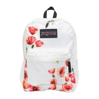 JanSport Superbreak Backpack (One Size, Multi California Poppy) - california poppy