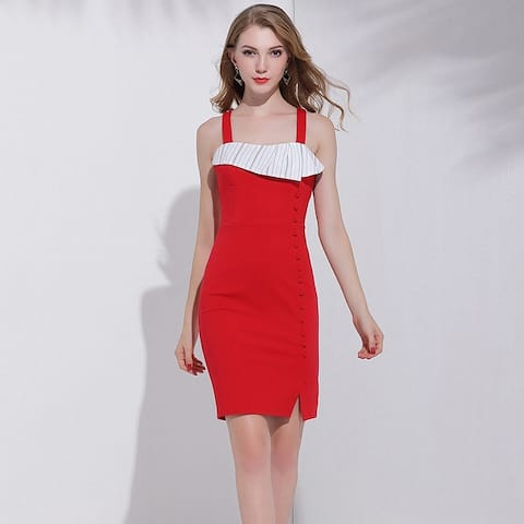 Camisole Red Dress