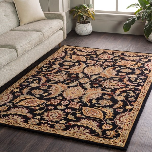 "Hand-Tufted Alton Floral Wool Rug - 7'6"" x 9'6"""