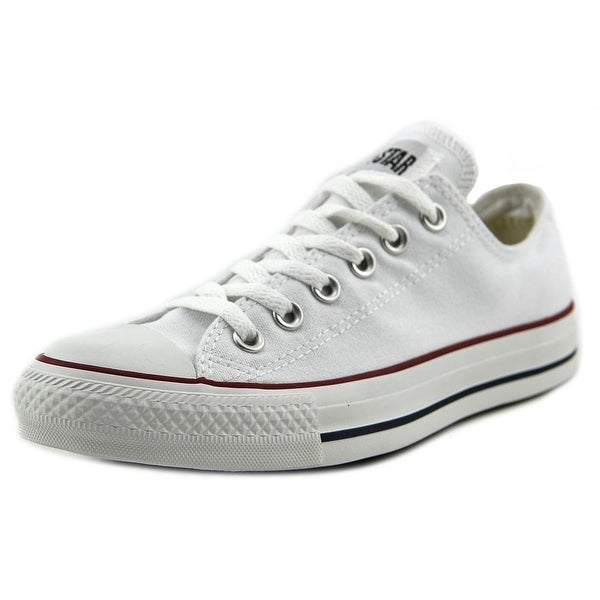 Converse All Star Ox Men Round Toe Canvas White Sneakers