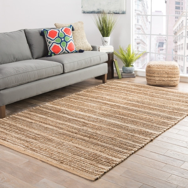 Trainor Natural Solid Area Rug. Opens flyout.