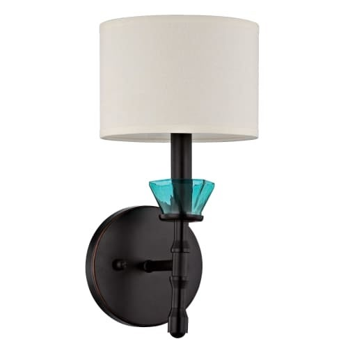 Jeremiah Lighting 36661 Emory 1 Light Indoor Wall Sconce - 6.5 Inches Wide