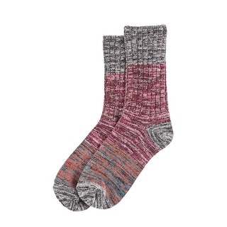 Hue Women's Colorblock Spacedye Boot Socks