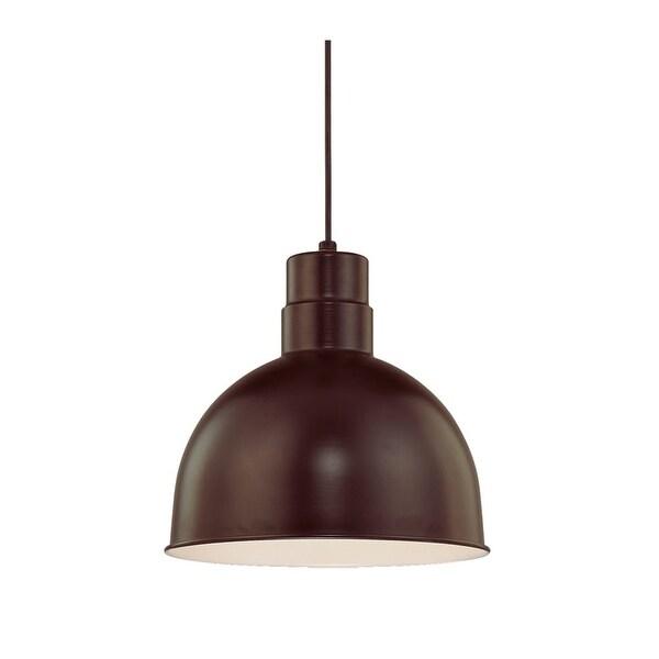 "Millennium Lighting RDBC12 R Series 1-Light 12"" Wide Bowl Pendant"