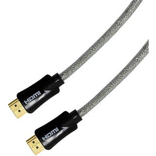 GE Pro Series 33521 4 Feet HDMI Cable with Ethernet - Black (Refurbished)