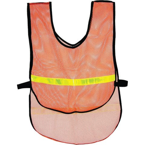Action orange reflective vest