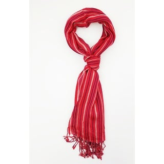 Link to Women Multi Color Lightweight Stripes Oblong Scarf With Tassels Fall Winter School Warm College Fashion Scarves - 6 Similar Items in Scarves & Wraps