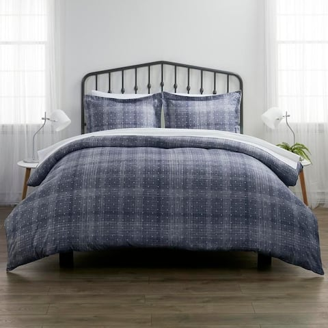 Merit Linens Premium Polka Dot 3-piece Duvet Cover Set