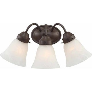 "Volume Lighting V1573 3 Light 17"" Width Bathroom Vanity Light"