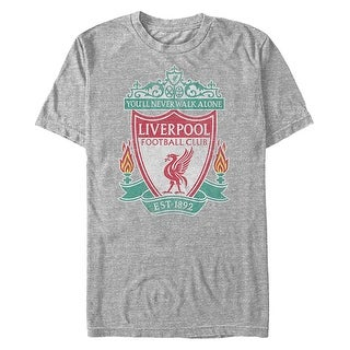 Liverpool Football Club Men's Bird Shield EST 1892 T-Shirt