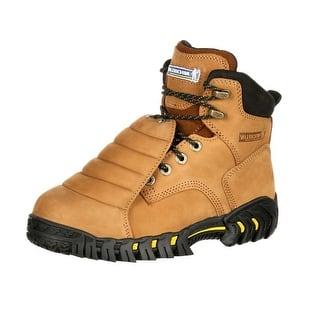 Michelin Work Boots Mens Sledge Steel Toe Metatarsal Brown XPX761|https://ak1.ostkcdn.com/images/products/is/images/direct/28f5d0d769f7321e5ef3e0c475d57be022a10fb6/Michelin-Work-Boots-Mens-Sledge-Steel-Toe-Metatarsal-Brown-XPX761.jpg?impolicy=medium
