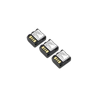 Battery for JVC BNVF707 (3-Pack) Replacement Battery