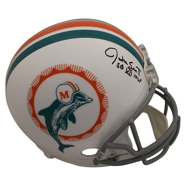 3d5e6ccfc75 Shop Jake Scott Autographed Miami Dolphins Replica TB Helmet MVP BAS - Free  Shipping Today - Overstock.com - 27279293