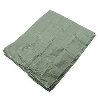 Plastic Courier Cargo Express Packing Snakeskin Bag Green 45 x 75cm 5 Pcs