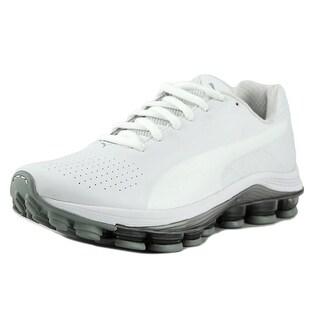 Puma Voltage SL Men Round Toe Synthetic White Sneakers